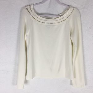 NWOT Cable & Gauge Knit Top Size Large